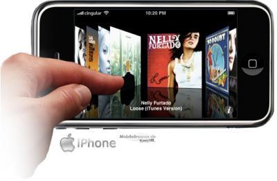 Iphone atractivo para los ladrones